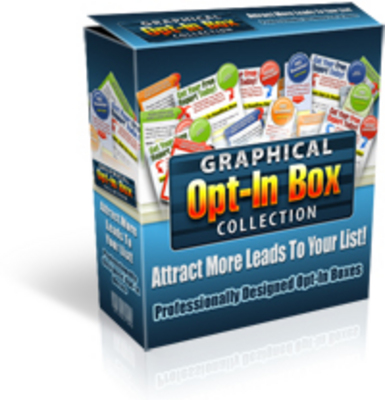 Product picture *NEW* Graphical Opt-In Box Collection  With Master Resale Ri