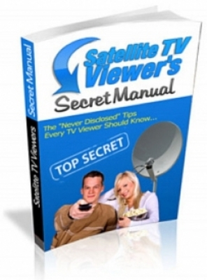 Product picture Satelite TV Viewers Secret Manual  WIth MRR