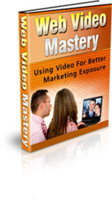 Product picture *NEW Web Video Mastery With MRR