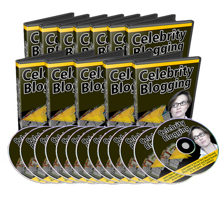 Product picture Celebrity Blogging Video Series with Master Resell Rights