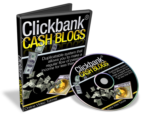 Product picture NEW* Click Bank Cash Blogs With MRR