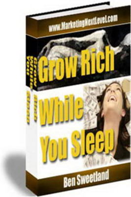Product picture NEW* Grow Rich While You Sleep With MRR