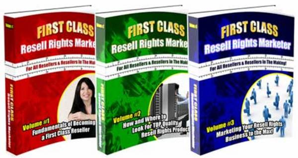 Product picture NEW* First Class Resell Rights Marketer With MRR